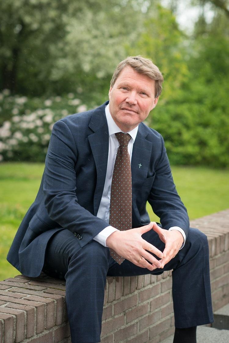 Dr. René de Reuver, scriba van de Protestantse Kerk in Nederland (PKN)