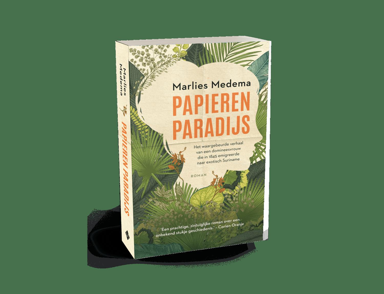 afbeelding van het boek Papieren Paradijs van Marlies Medema