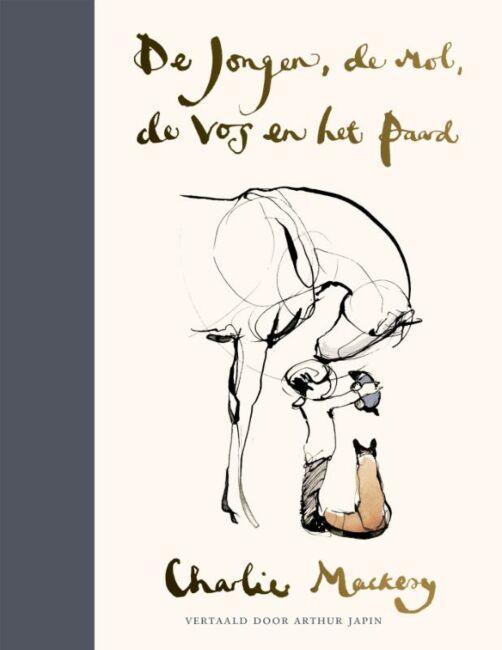 het boek De jongen, de mol, de vos en het paard van Charlie Mackesy