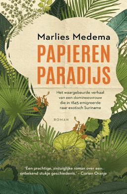 Het boek Papieren Paradijs van Marlies Medema
