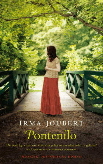 Het boek Pontenilo van Irma Joubert over de gevolgen van de tweede wereldoorlog op persoonlijk niveau