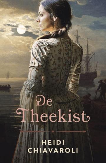 Het boek de theekist van Heidi Chiavaroli