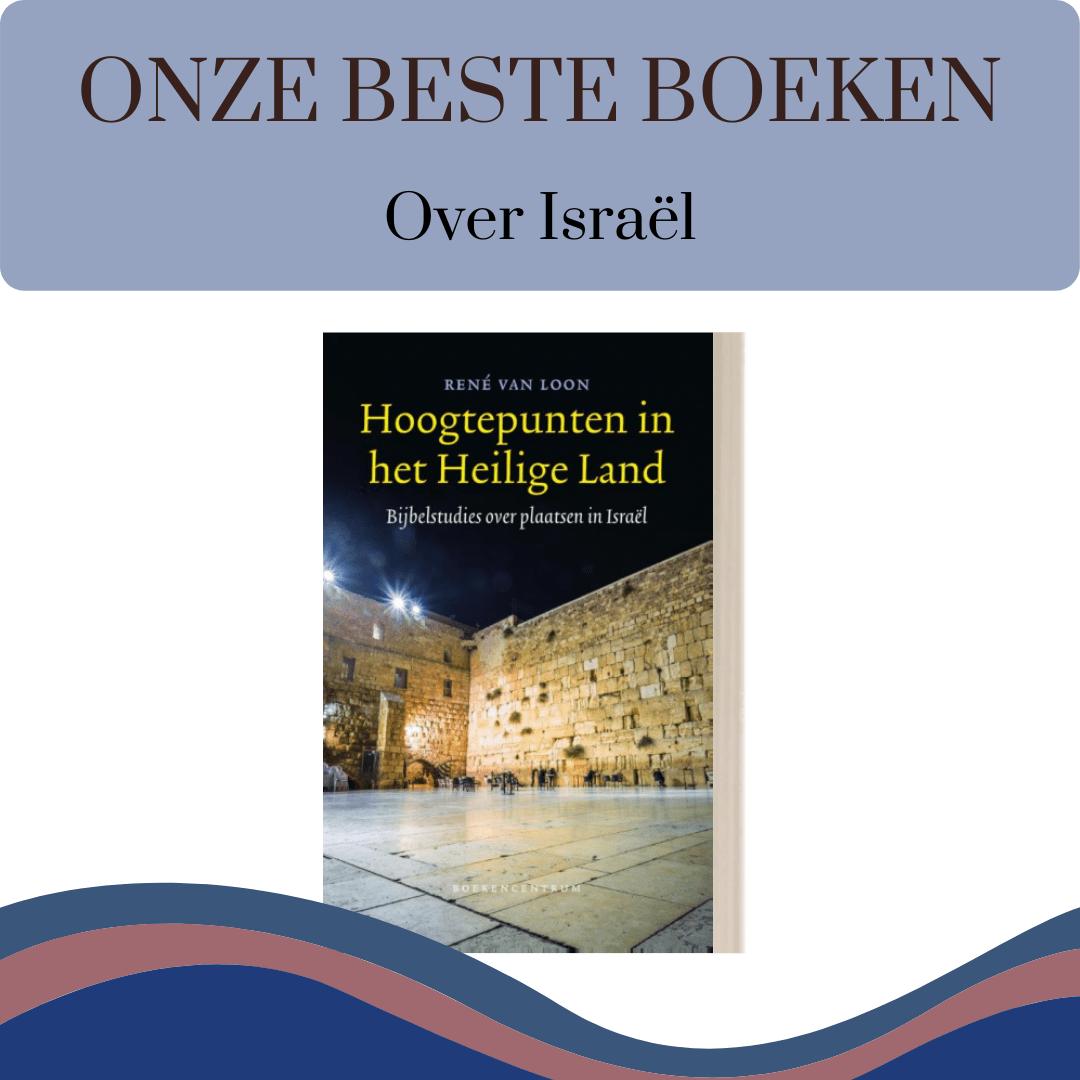 Link naar 5 boeken die wij aanraden voor informatie over Israël