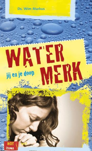 Een tip voor de doop het boek Watermerk