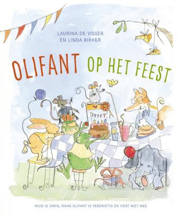 Het boek olifant op het feest
